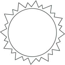 Sun Template Printable Sun Template Printable Major Magdalene Project Org