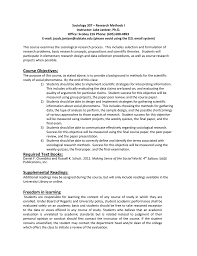 Sociological Research Sociology 307 Research Methods I