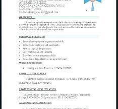 Resume Samples Word Downloadable Resume Format Sample Resume In Word ...