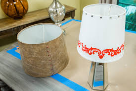 How To Diy Studded Lamp Shades Home Family Hallmark Channel