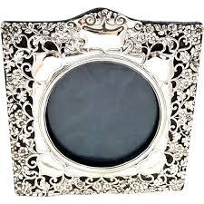 silver antique picture frames. Antique Edwardian Sterling Silver Photo Frame, 1906 Picture Frames
