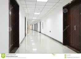 Office hallway Glass Curved Interior Hallway In An Office Building Dreamstimecom Curved Office Hallway Stock Photo Image Of Curving Shiny 51022302
