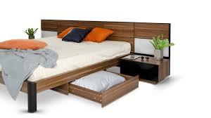 modern platform bedroom sets. Rondo - Modern Platform Bed With Nightstands, Storage And Lights VGWCRONDO YouTube Bedroom Sets