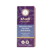 Khadi Herbal Hair Colour Pure Indigo Blue Black Free Uk
