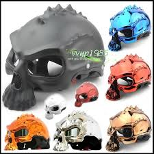 masei 489 skull motorcycle chopper helmet update your sun visor