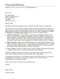 school cover letter librarian cover letter sample monster com