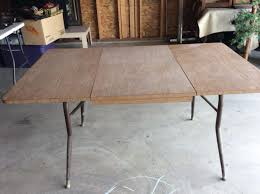 Vintage Formica Top Kitchen Table Sides Drop Down Table Is Expandable 59x36 No Chairs