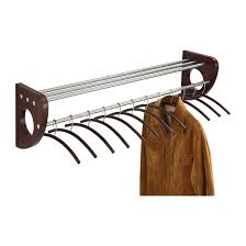 Safco Coat Rack Mode™ 100 Wood Wall Coat Rack With Hangers Safco Products 32