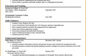 Optimal Resume Ou Ideas Sampleresumesandcv Com