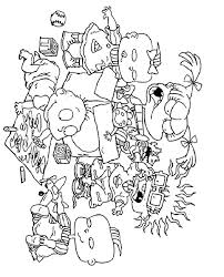 Small Picture Rugrats Coloring Pages To Print Coloring Home