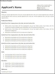 Free Resume Templates Microsoft Word 2007 Interesting Create Resume Free Funfpandroidco