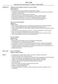 How To Write Resume For Retail Job Retail Intern Resume Samples Velvet Jobs 45