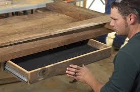 how to build a reclaimed wood office desk how tos diy building office desk