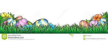 Easter Eggs Background Stock Vector Illustration Of Ester