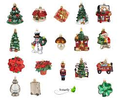 Christbaumschmuck Figuren Glas Kreativmarkt Butterfly