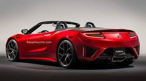 2018 acura nsx convertible. plain convertible 2017acuransxroadsterrendering02 in 2018 acura nsx convertible