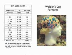 Welding Cap Pattern Extraordinary Free Welding Cap Pattern Printable Print The Pattern Out So That