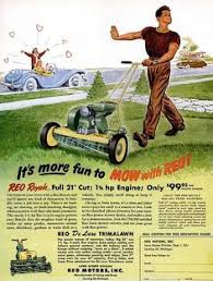 lawncare ad ajax grass box vintage lawnmower pinterest grasses and gardens