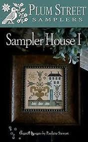 Sampler House I Plum Street Samplers Chart