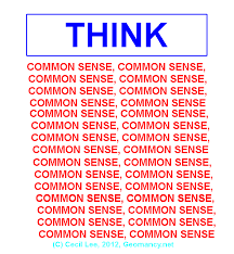 Image result for common sense gif