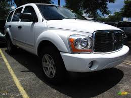 2004 Bright White Dodge Durango Limited #31584825 | GTCarLot.com ...