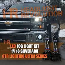 2015 Chevy Silverado 1500 Fog Light Bulb 2014 2018 Chevrolet Silverado 1500 2500hd 3500hd Led Fog Light Conversion Kit Ultra Series Cx