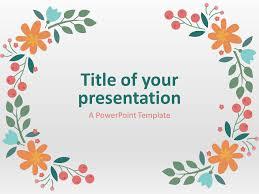 Free Spring Presentation Theme Powerpoint Template Designhooks