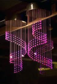 fiber optic chandelier bespoke fibre and r led fiber optic chandelier