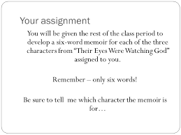 Six Word Memoirs A.P. English Language. - ppt video online download