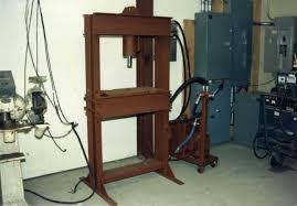 hydraulic press plans
