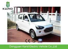 popular fully electric cars with 4 leather seats white color f r brake style