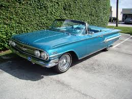 1960 Chevy Impala 348 Tripower For Sale