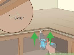 image titled install granite countertops step 5