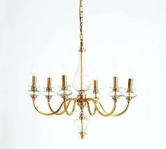 brass glass chandelier brass and glass chandelier makeover