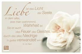 Liebe Ist Das Licht Der Seele In Dem Alles Was Man Wahrnimmt