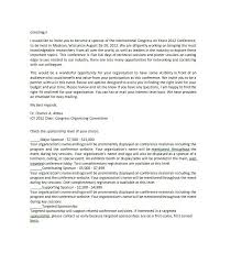 40 Sponsorship Letter Sponsorship Proposal Templates