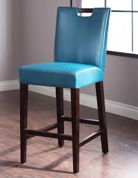 Stools Design Glamorous Blue Leather Bar With  Fascinating Teal Blue Leather Bar Stools U68