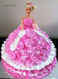 Pin By Mary Portelli On Tinkerbell Barbie Birthday Cake Birthday