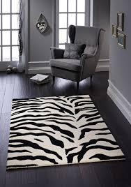 zanzibar classic zebra rug