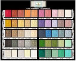 Coral Paint Color Chart Paints Painted Treasures Of Denver