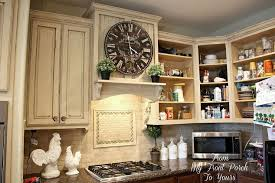 what kind of paint to use on kitchen cabinetsCreating a French Country Kitchen Cabinet Finish Using Chalk Paint