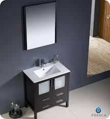 30 fresca torino fvn6230es uns modern bathroom vanity w undermount sink espresso