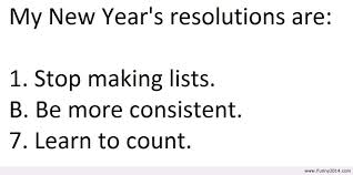 Funny Quotes About Resolutions