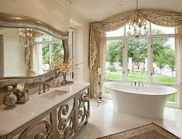 mercury glass bathroom accessories. Example Of A Tuscan Freestanding Bathtub Design In Phoenix Mercury Glass Bathroom Accessories