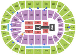 Wells Fargo Wwe Seating Chart Complete Richmond Coliseum Seating Chart Wwe Raw 2019