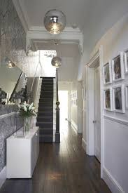 floor lighting hall. Hall Decor Ideas ~ Lighten Up Dark Floor With White Walls, Console And Mirror Lighting L