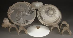 glass lamp shades vintage collection of nine vintage glass lamp shades lot 14 lqucfij
