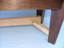 Black Walnut Coffee Table Maple Black Walnut Coffee Table Burns Jennings Custom Art Furniture