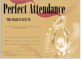 Attendance Certificates And Letter Templates Dillon Schoo