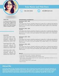 Resume Templates 2016 Which One Should You Choose Curriculum Vitae